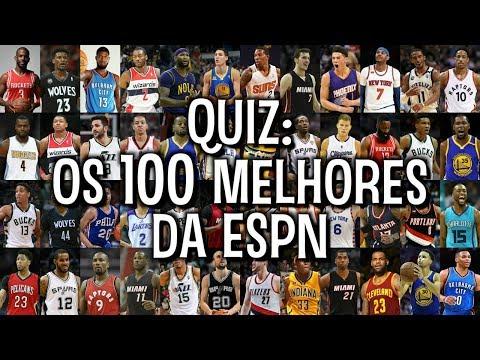 QUIZ: os 100 MELHORES da NBA segundo a ESPN!