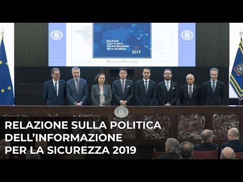 Relazione sulla politica dell'informazione per la sicurezza 2019