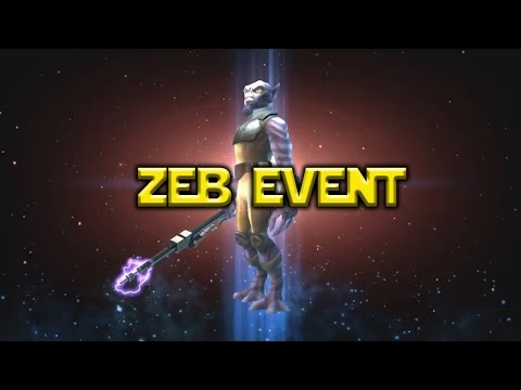 Star Wars: Galaxy Of Heroes - Zeb Event