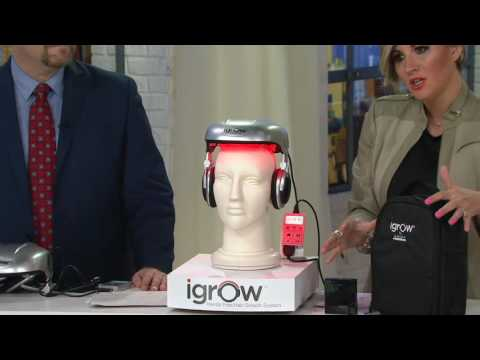 iGrow by Apira Science Hands Free Hair Growth Laser System on QVC