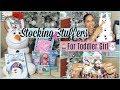STOCKING STUFFERS IDEAS FOR A TODDLER GIRL  |  VLOGMAS #6