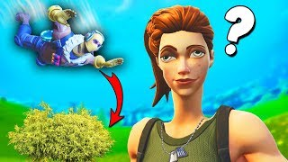 Tricking default skins in fortnite