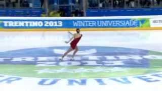 Francesca RIO ITA LP Winter Universiade 2013