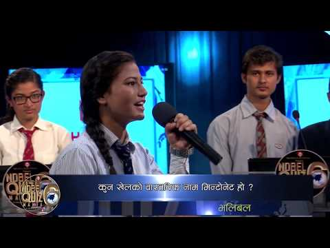 Asian Quiz Nobel Quiz Mania season 6 episode 2