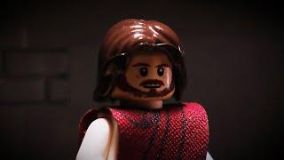 Jesus Heals a Paralytic in LEGO