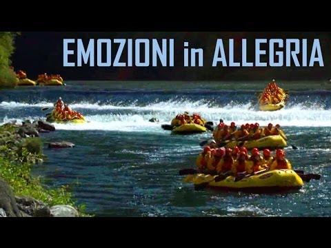 Rafting sul fiume Brenta - Emozioni in allegria a Valstagna.wmv