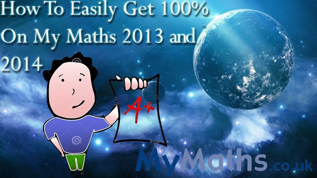 How to Easily Get 100% On My Maths January 2014 - YouTube
