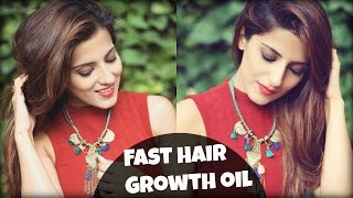 #Hair Growth Tips- Natural Homemade Fast Hair Growth Oil For Thick, Long, Silky, Shiny, Healthy Hair