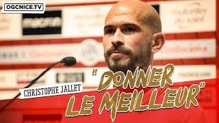 Christophe Jallet à l'OGC Nice : la présentation