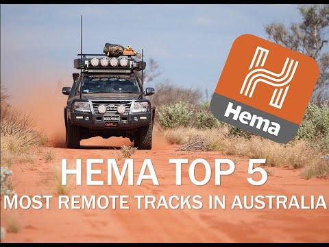 Emu Atomic Bomb Test Site - HEMA Top 5 Most Remote Tracks In Australia