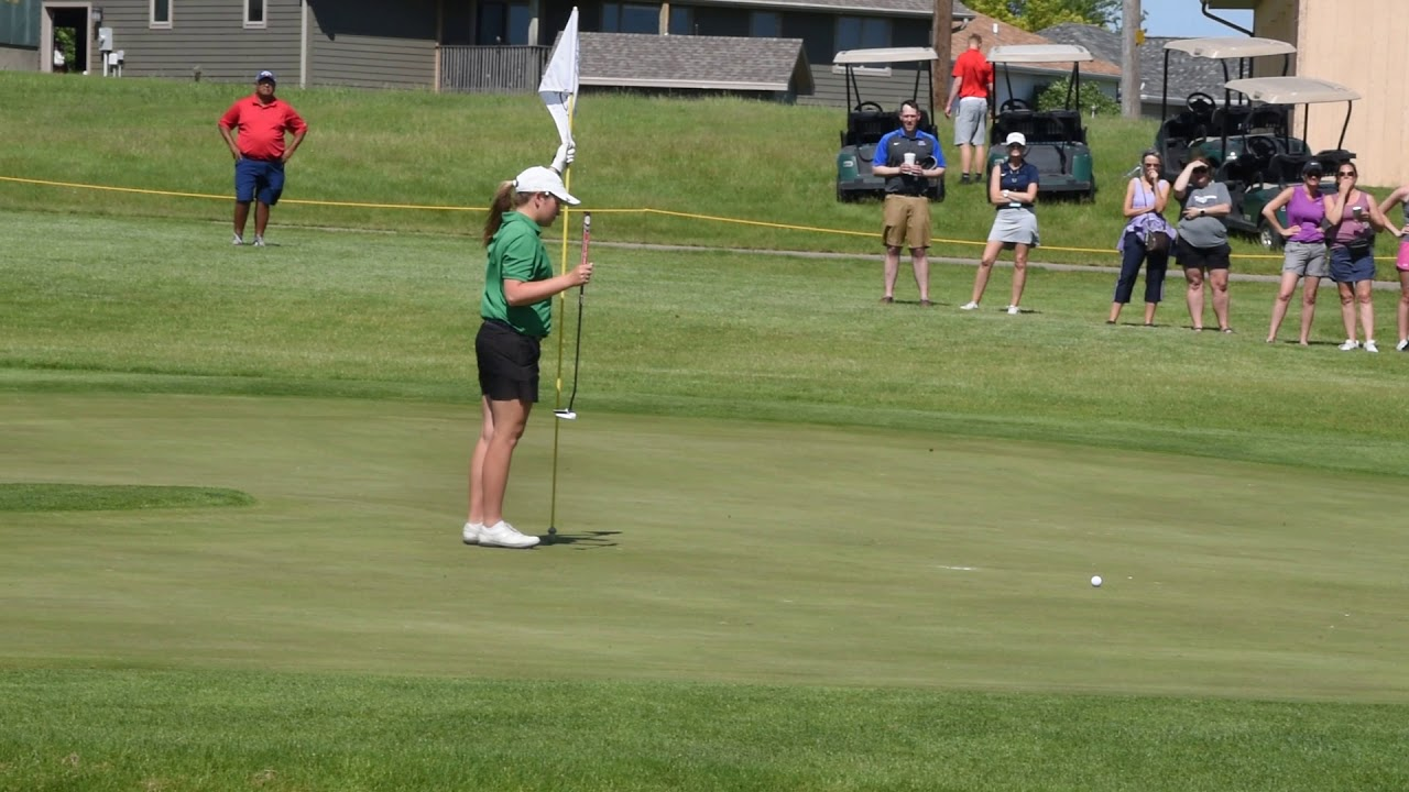 State golf: Shannon McCormick nearly perfect for state champ O'Gorman
