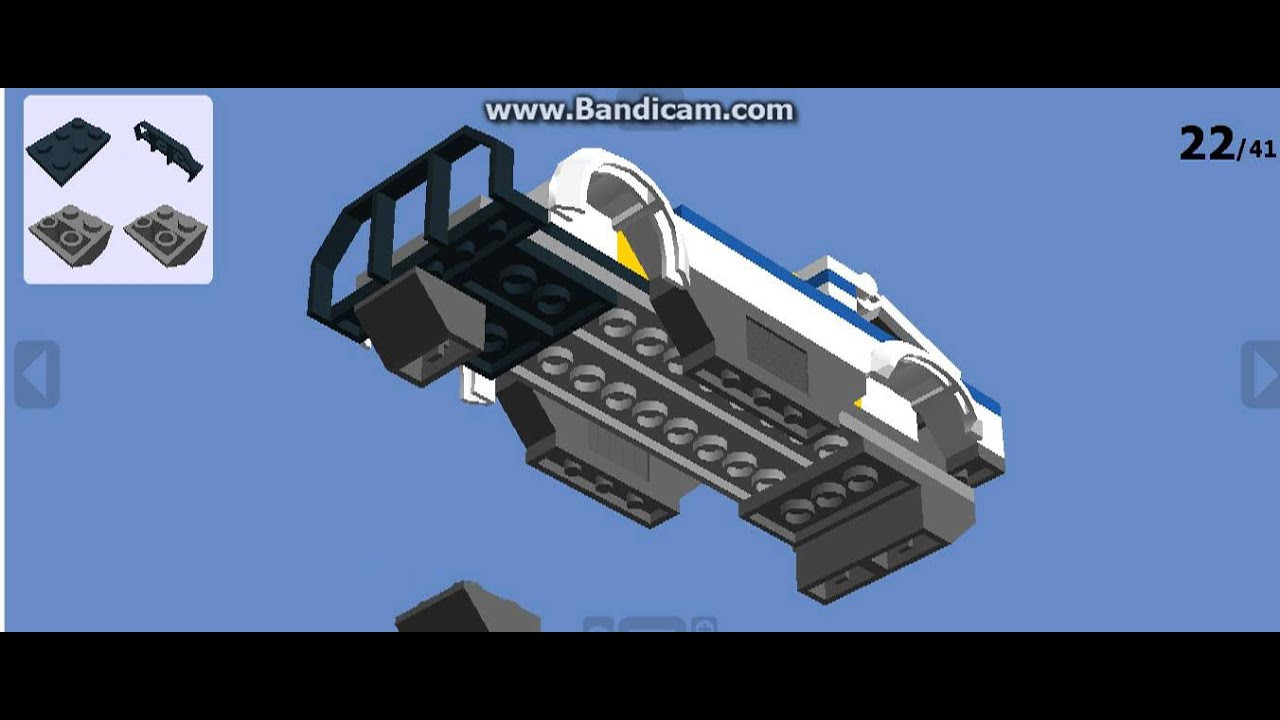 Как собрать Lego полицейскую