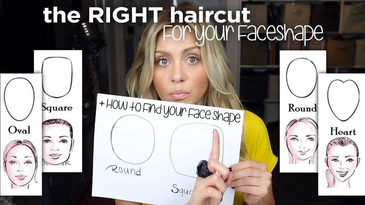 9840935ad9f Best Hair Styles For Your Face Shape - And How To Find Your Face Shape -  YouTube