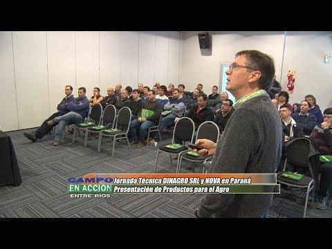 Carlos Grosso - Consultor Privado VMV Siembras - Jornada Técnica DINAGRO-NOVA en Paraná