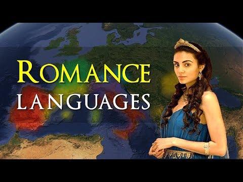 Spread of the Romance languages - Spanish, Portuguese, Italian, Catalan & more