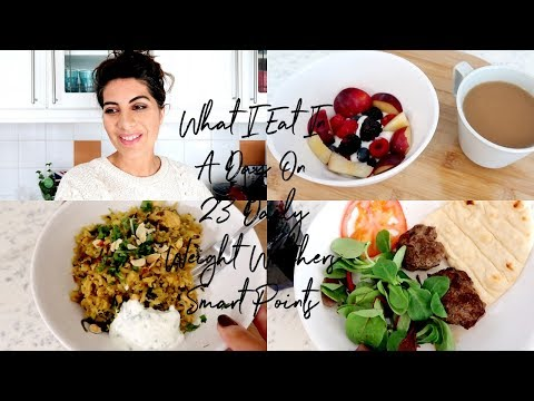 What I Eat In A Day On 23 Daily Weight Watchers Points | Natasha Summar