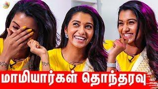 மாமியார்கள் தொந்தரவு I Priya Bhavani Shankar, SJ Suryah, Karunakaran I Monster Interview