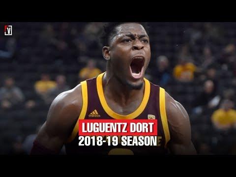 Lugentz Dort Arizona State Freshmen Highlights Montage 2018-19 Season - Wrecking Ball Dort!