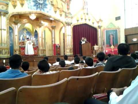 Fr Maximus at St Thomas IOC, Philadelphia