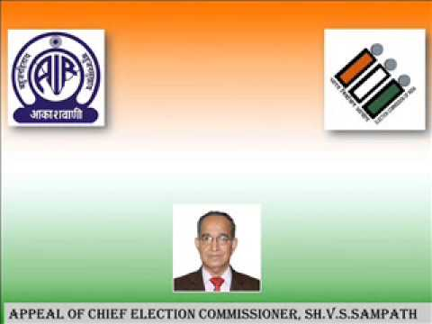 INTERVIEW WITH CHIEF ELECTION COMMISSIONER,SH. V. S. SAMPATH
