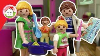 Playmobil Film deutsch - Abendroutine von Familie Hauser - Kinder Spielzeug Filme