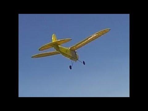 Berkeley Buccaneer C Special Old-Timer RC Plane Air to Air Video- Vintage R/C Plane