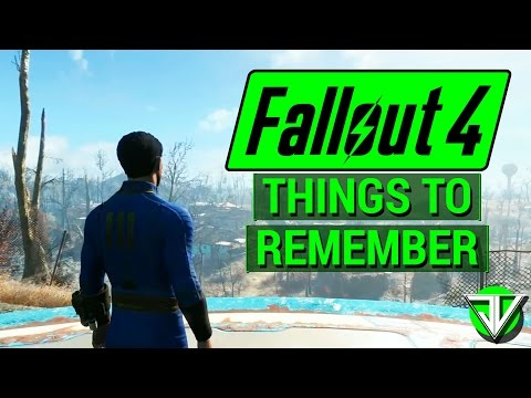 FALLOUT 4: Most IMPORTANT Things to Remember Before Starting Fallout 4! (Major Features)