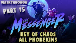The Messenger All Music Notes #4: Key of Chaos, All Phobekins, Dark Cave, Rivière Turquoise (Boss)