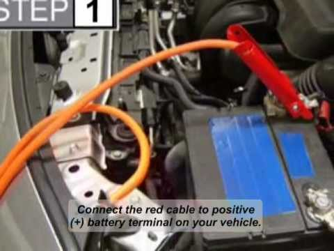 how to jump start your vehicle in case of low battery youtube. Black Bedroom Furniture Sets. Home Design Ideas