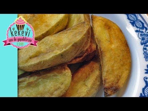 Çıtır Kabuklu Elma Dilim Patates - Kekevi Yemek Kanalı