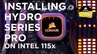 Installing Hydro Series PRO On Intel 115x