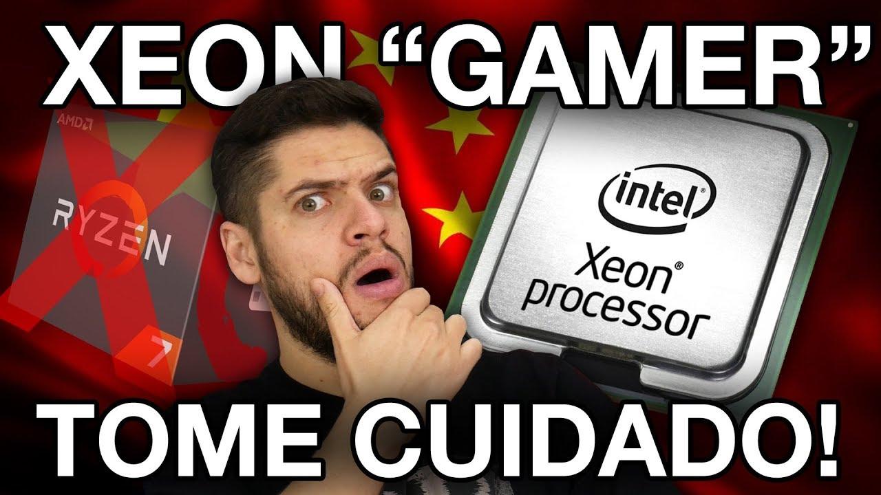 XEON BARATO para GAMES melhor que RYZEN? Compensa montar da China? O que NÃO TE CONTARAM