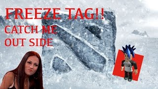 ROBLOX FREEZE TAG! CAN'T CATCH ME, CASH ME OUTSIDE! RAN DAM TUESDAYS EPISODE 2!