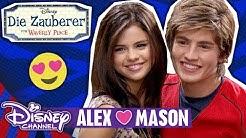 DIE ZAUBERER VOM WAVERLY PLACE - Clip: Alex ❤️ Mason | Disney Channel App 📱