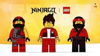 LEGO Ninjago Kai | Drawing Lego Ninja Kai