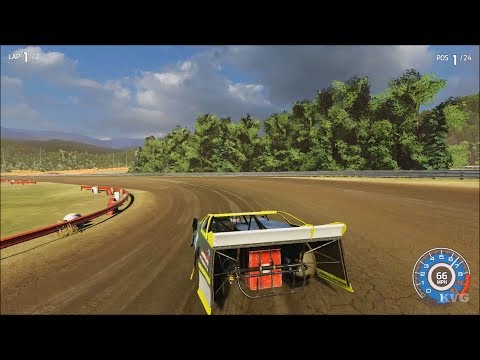 NASCAR Heat 3 - Park Jefferson International Speedway - Gameplay (PS4 HD) [1080p60FPS]