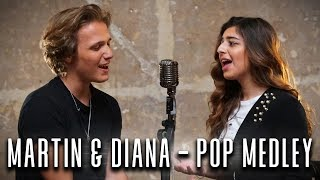 Martin & Diana Kalashova - Pop Medley