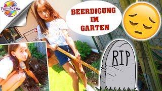 BEERDIGUNG im GARTEN - Leider gestorben - RETTUNG GESCHEITERT - Family Fun