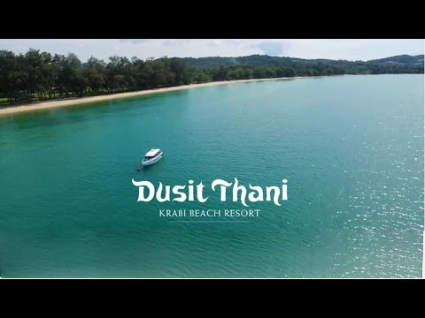 Dusit Thani Krabi Beach Resort - Drone Fly-Over Movie