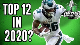 Fantasy Football - Will Miles Sanders be a Top-12 RB in 2020?
