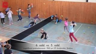 Turnaj v loptičkovej prehadzovanej - ŠKD pri ZŠ Strážnická 2017