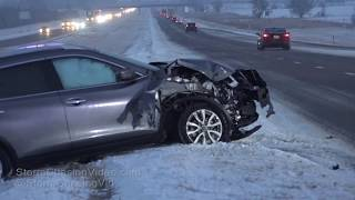 Central KS Overnight Morning Wrecks - 2/20/2019