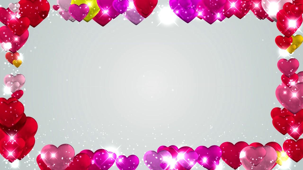 Background frame heart san valentin youtube - San valentin desktop backgrounds ...