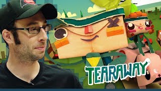 Tearaway (PS Vita 2013) - Best Game on the Vita? - The Backlog