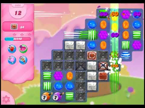 Candy Crush Saga Level 2858 - NO BOOSTERS