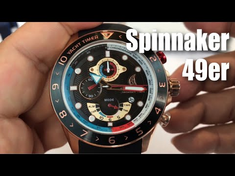 Amalfi Yacht Racer Limited Edition 49er Class Watch by Spinnaker Watches review and giveaway