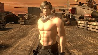 Mod Showcase: Resident Evil 6: Leon Shirtless Mod By Felixnew