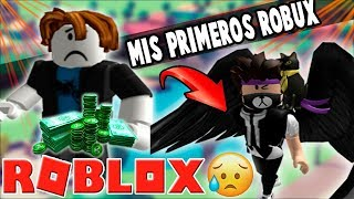 HOW TO GAS MY FIRST ROBUX... 😱🤑 Roblox