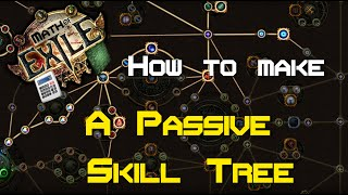 Path of Exile - How to make a passive trees for all builds! - Math of Exile