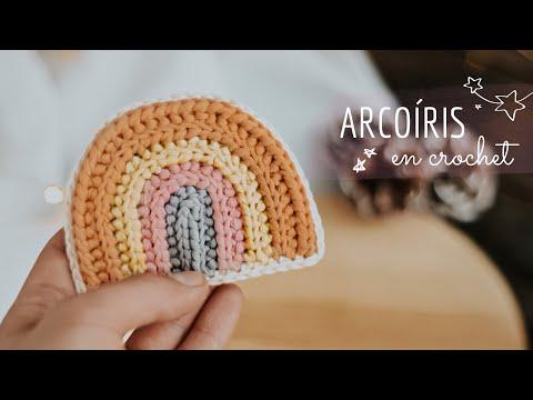 ARCOÍRIS | paso a paso en crochet